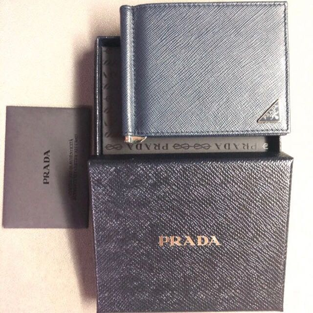 920a43526e0a ... coupon prada men money clip wallet brand new mens fashion bags wallets  wallets on carousell a2f5c