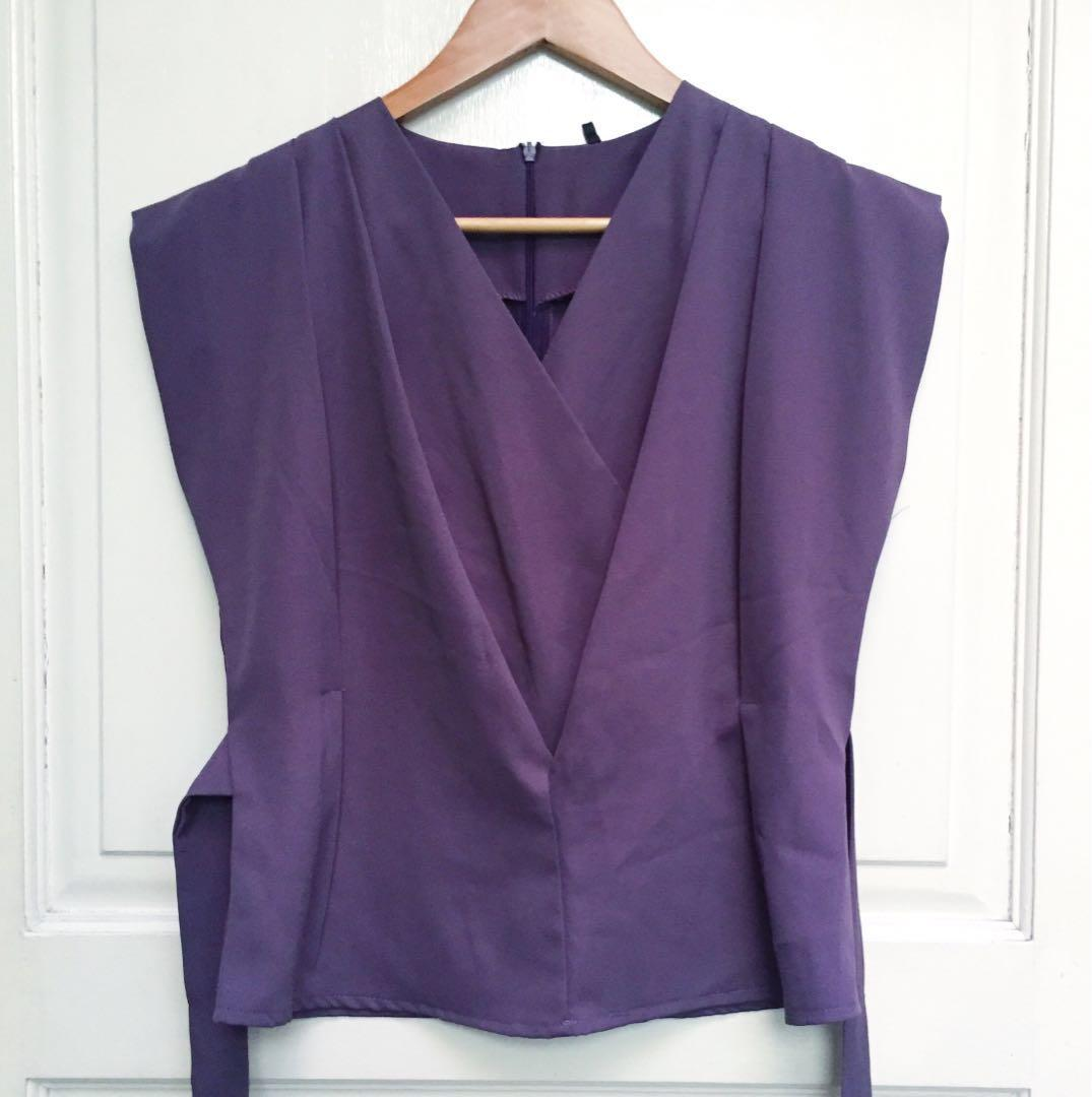 Purple Blouse #joinjuli