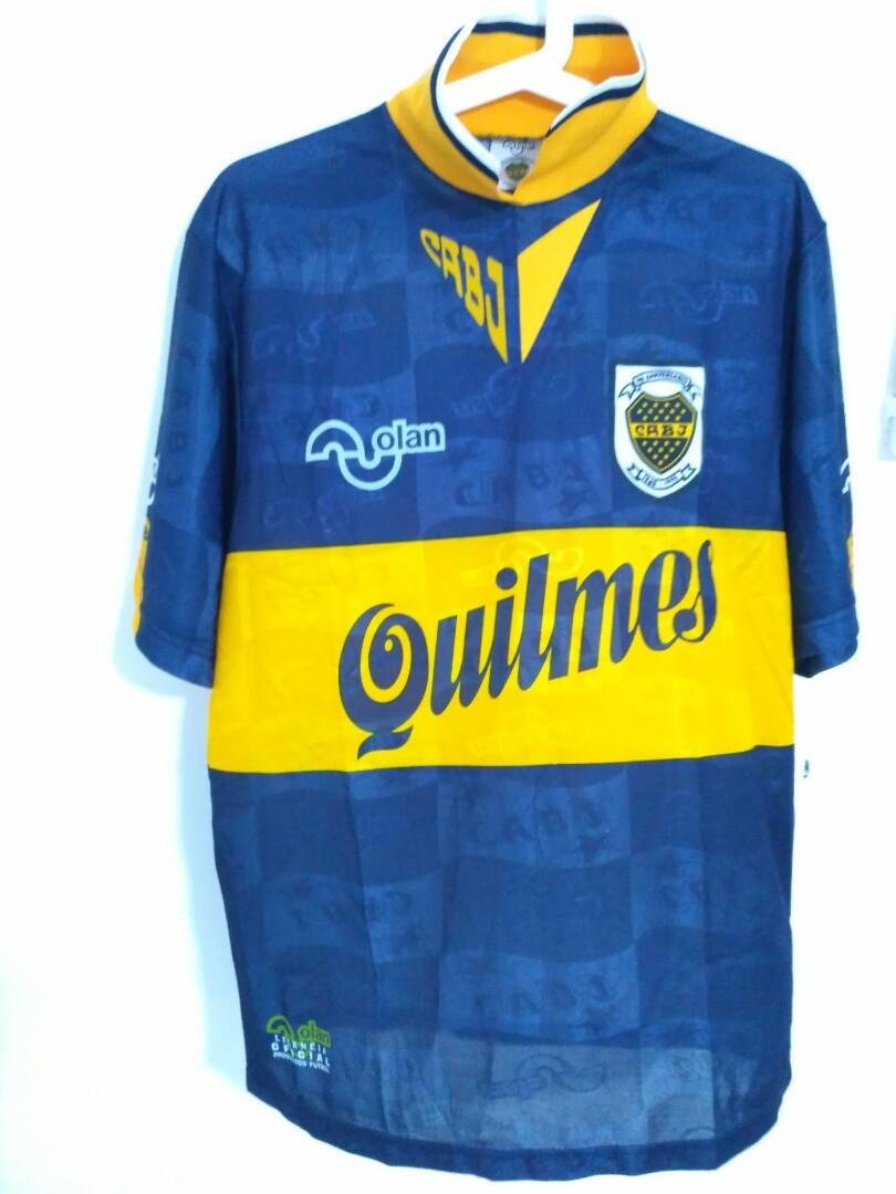 free shipping 02acf 97b20 RARE BOCA JUNIOR FC Soccer Jersey Maradona number 10