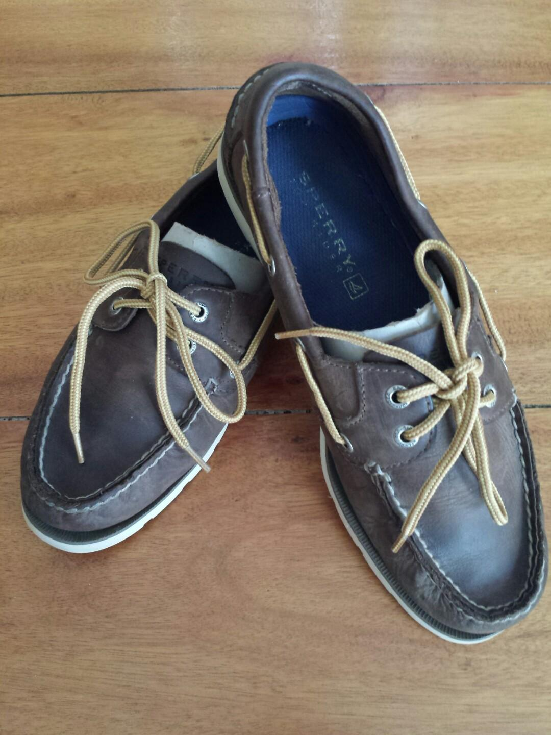 A Der 2 eye LeatherChaussures Sperry o F13Tl5JuKc