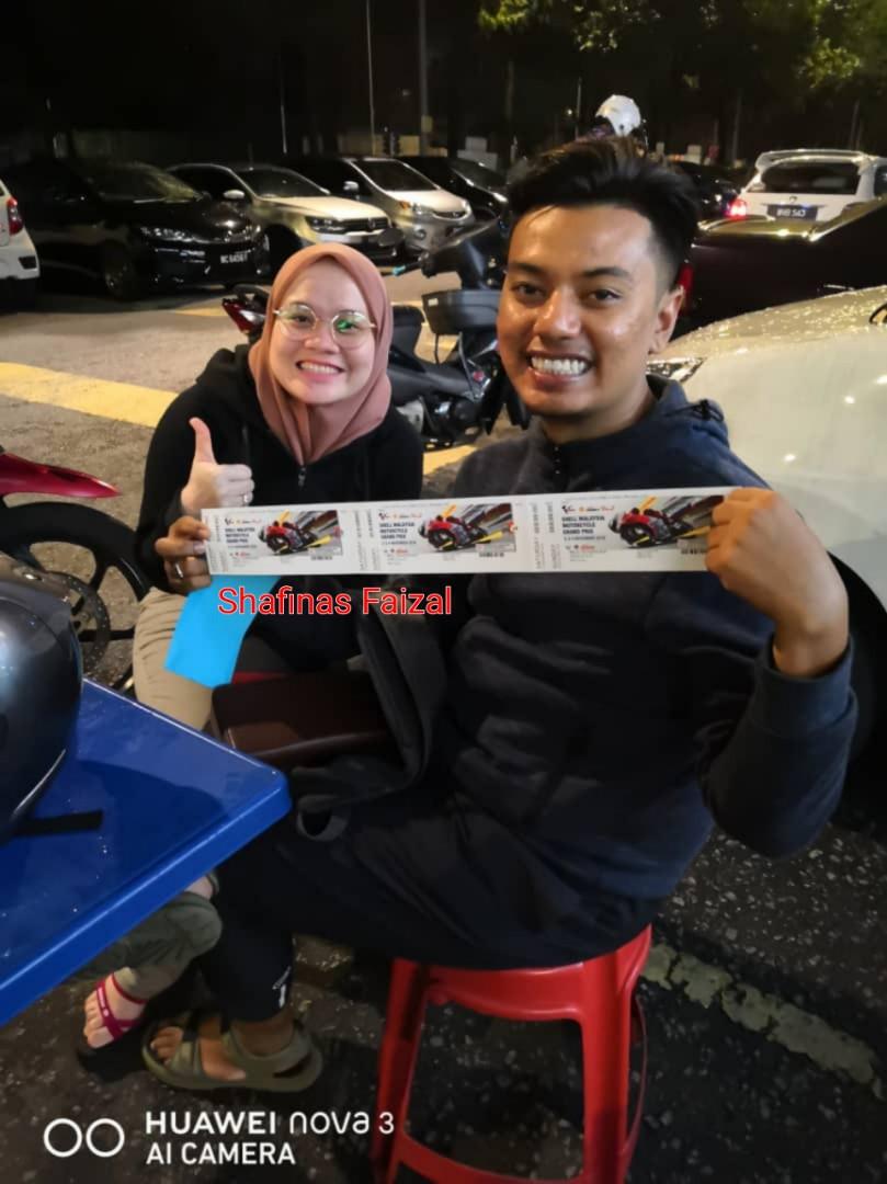 Ticket Motogp Sepang 2 3 4 November 2k18 Tiket Baucar 2018 02 04 Vr46 Tribune Acara Di Carousell
