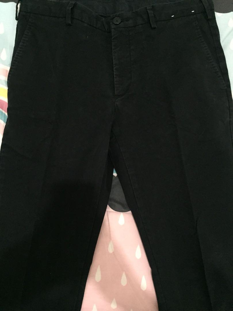 Uniqlo Pants Black Size 82