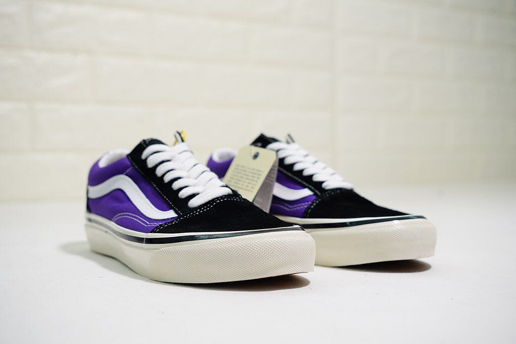 edf1f9bf505a72 Vans Old Skool 36 DX Anaheim Factory  Black   OG Bright