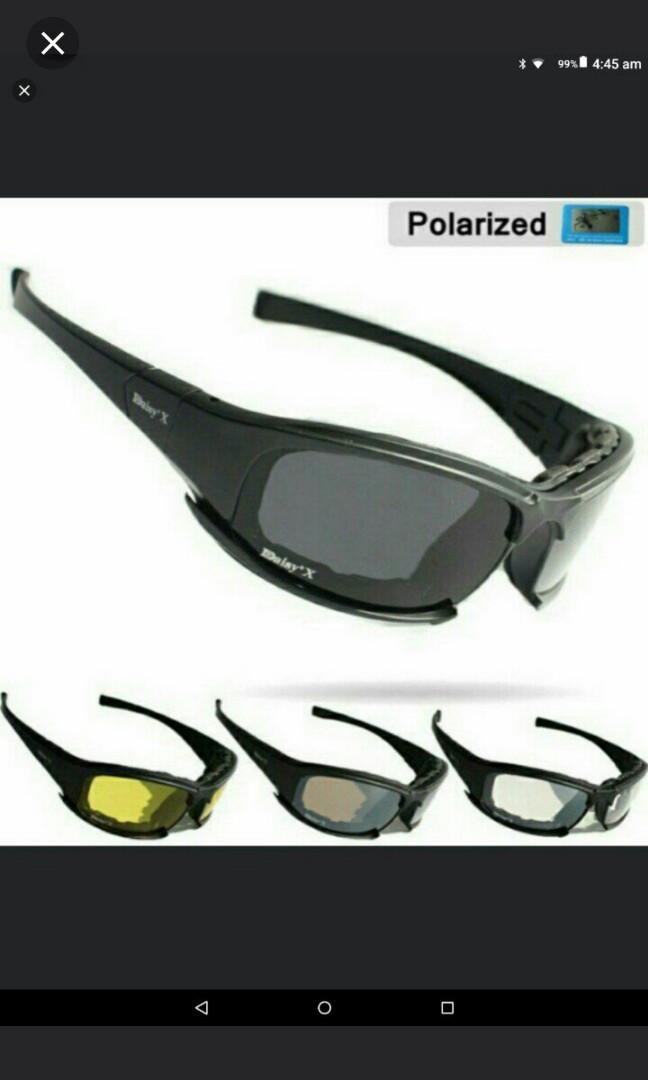 751d8d1b0e 🆕🆒Polarized Daisy X7 Army Sunglasses