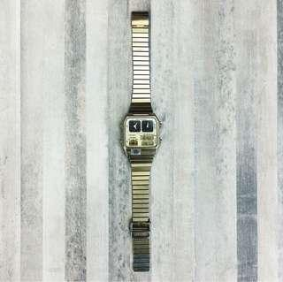 1980s Vintage Citizen Ana-Digi Temp Watch
