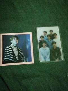 WTS BTS photocard