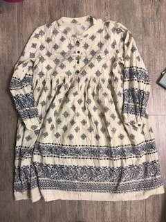 日本森系民族娃娃裙