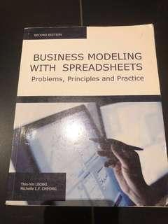 Business Modeling with Spreadsheets: Problems, Principles and Practice by T-Y Leong j/MLF Cheong