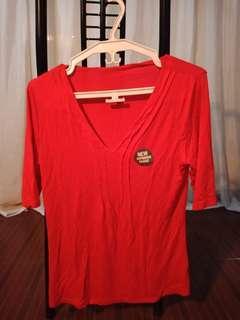 M&S Plain Long Sleeve Shirt