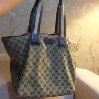 Authentic gucci monogram canvas