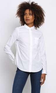 levi's white top