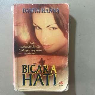 Novel Melayu: Bicara Hati | Damya Hanna