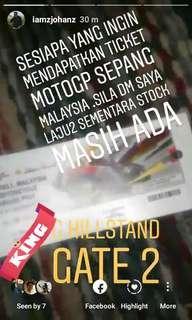 MOTOGP SEPANG MALAYSIA TICKET 2018
