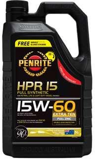 HPR 15 15W-60 Turbo車用全合成機油