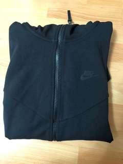 NEW Nike black tech fleece zip up hoodie