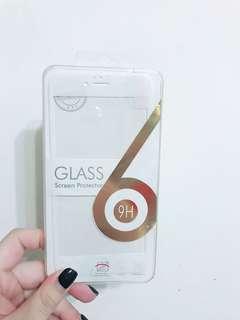 Iphone6 plus玻璃軟邊貼 包平郵
