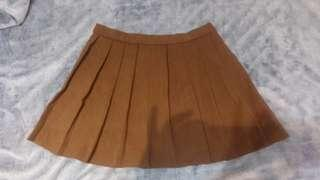 Brown Tennis skirt