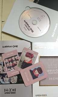 Album Undivided Wannaone ver Hasungwoon SET