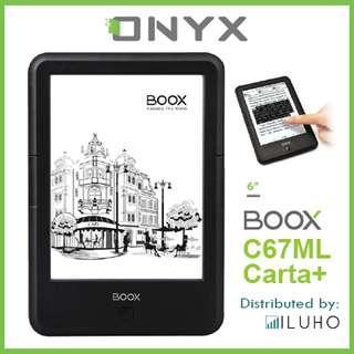 🚚 [BNIB] Preorder only! ONYX BOOX C67ML Carta Plus + Free Cover