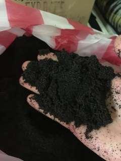 Black sand for aquarium