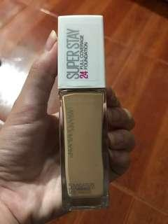 Maybelline Super Stay Foundation in Shade 128 (Warm Nude)