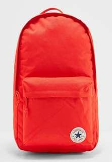 BRAND NEW WITH TAGS! Red Converse EDC Poly Backpack