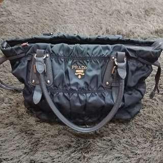 Prada Tessuto Nylon Gaufre Tote Bag