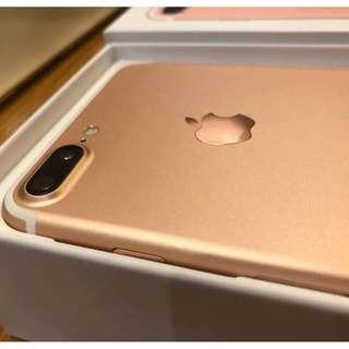 iPhone7 Plus 128gb Rose Gold OPENLINE!