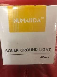 NUMARDA SOLAR GROUND LIGHT (pack of 4)