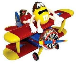 BRAND NEW! M&M Airplane Candy Dispenser