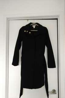 HM black coat classic