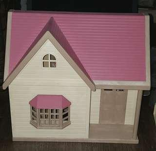 Sylvanian Families Pink Orchard Cottage (Japan)
