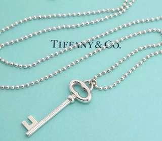 Tiffany & Co Large Oval Key Ball Beaded.