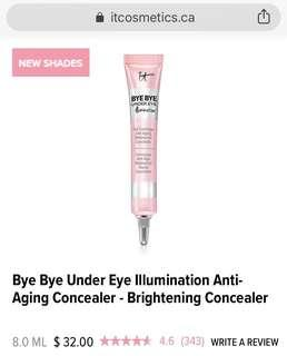 It cosmetics bye bye under eye illumination concealer in light