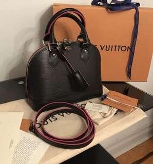 Louis Vuitton Alma BB Epi