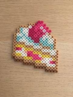 PERLER DETAILED CAKE