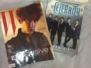 EXOclusive (SOLD) & The Celebrity Magazine