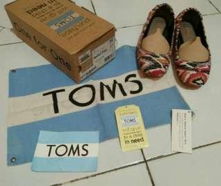 Toms 100% original