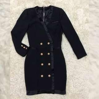 Balmain Tuxedo coat Dress
