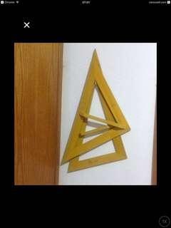 Triangle Ruler 50 Cm