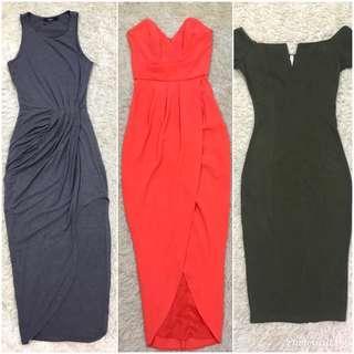 ❗️Soldout❗️Trendy Preloved Dresses