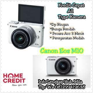 Cash Dan Kredit Kamera Mirrorless Canon Eos M10 Proses Acc Hanya 3 Menit