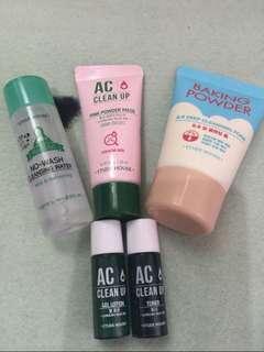 Etude Skin Care Set