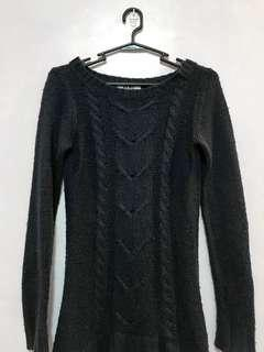 REPRICED! Navy Blue Knitted Sweater