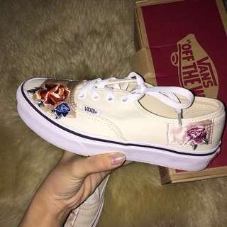 Authentic Vans Satin Patchwork Classic Sneakers