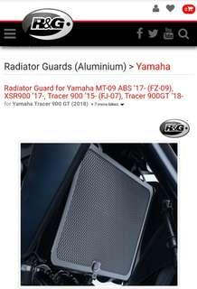 R&G Radiator Guard for Yamaha MT-09 ABS '17- (FZ-09), XSR900 '17-, Tracer 900 '15- (FJ-07), Tracer 900GT '18-