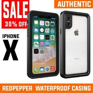 CLEARANCE! iphone X WATERPROOF CASE. INSTOCK. AUTHENTIC