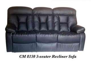 Recliner Sofa 3-seater Cm 8150