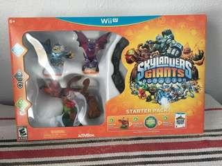 Brand New Wii U Skylanders Giants Starter Pack