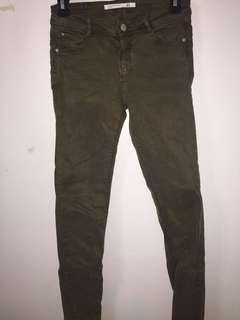 Zara Hunter Green Pants